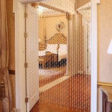 Interior Decoration Curtain Crystal Glass Bead Door Curtains Stage Background Wedding
