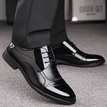 Business Leather Shoes Men Formal Dress flats Luxury mens