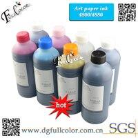 Envío gratis! 8 Color 500 ml alta calidad arte de la tinta de pigmento para EPSON 4800 4880 impresora de gran formato de la capa de tinta de papel