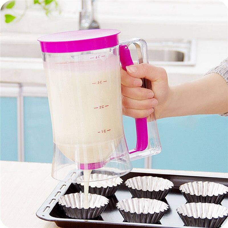 New Baking Essentials Cake Batter Cream Dispenser Dough Cupcake Batter Dispensers
