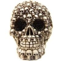 Unique Design Gifts Decor Resin Skull Realistic Replica Human Skull Home Statue Skull Head Collectible Skeleton