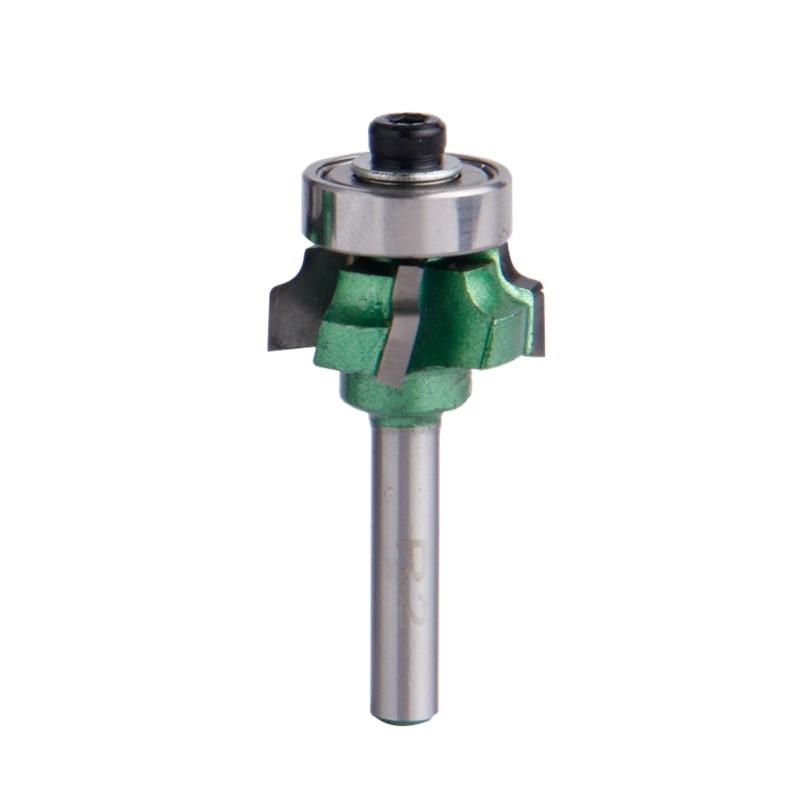 цены на 1pc Woodworking Milling Cutter Trimming Knife 1/4*R2 Edge Wood Cutter Trimmer 4 Teeth Wood Router Bit Tool в интернет-магазинах