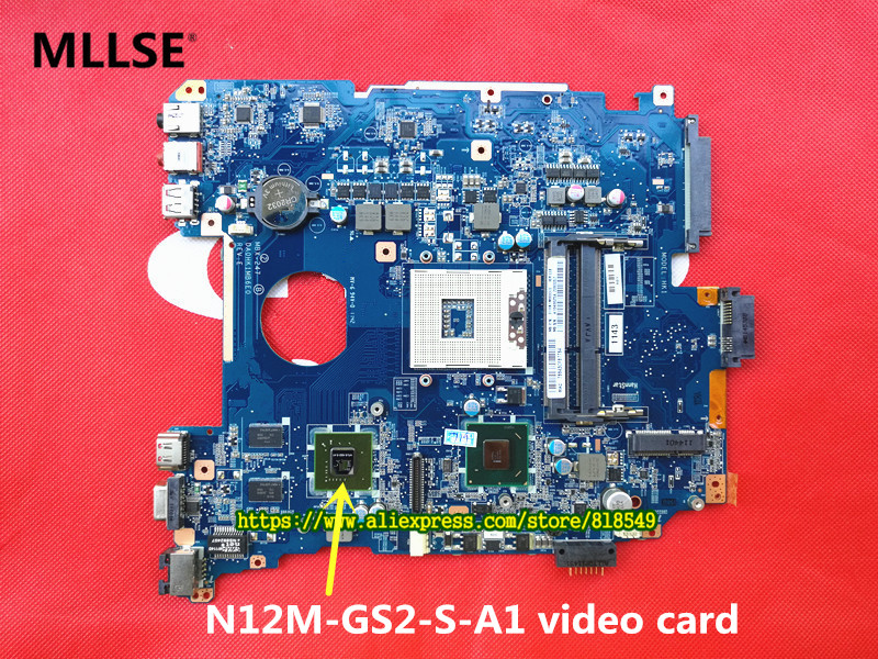 Laptop Motherboard Fit For Sony MBX-247 DA0HK1MB6E0 A1827702A A1827700A Motherboard with N12M-GS2-S-A1 video card