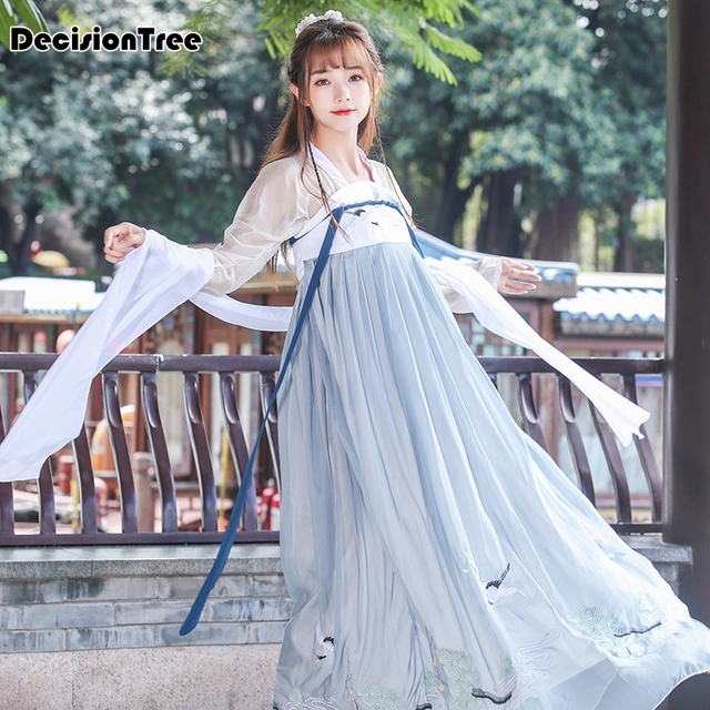 26535ad3cc0 2019 new womens chinese traditional costume hanfu dresses clothing tang  ancient fairy dress princess clothes costumes cosplay