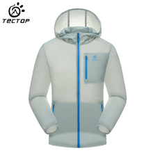 TECTOP Men UV-Protect Skin Jacket Men Quick Dry Waterproof Windproof Breathable Jacket Men Climbing Cooling Trekking Jacket