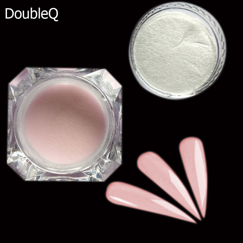 How To Use Chrome Nail Powder Without Gel: 2g/Box Dipping Powder Nail Glitter Powder Chrome Pigment