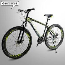 Рама из высокоуглеродистой стали, 21 скоростной велосипед, 29 дюймов горный велосипед, передний и задний механический дисковый тормоз, бесплатно