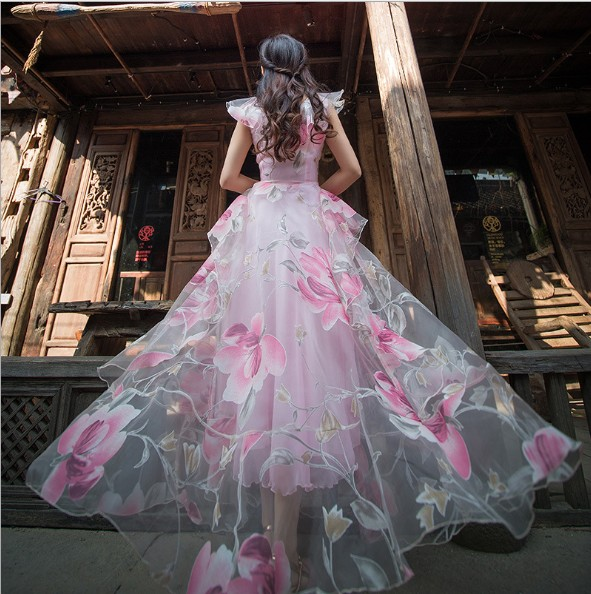 f1432bbc9c5e Buy fairy print dress and get free shipping on AliExpress.com