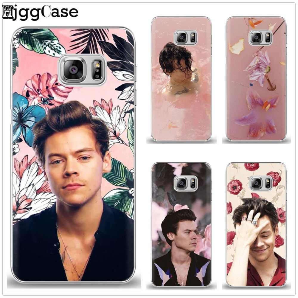 Harry Styles Phone cover Case For Coque Samsung Galaxy S6 S7 Edge ...