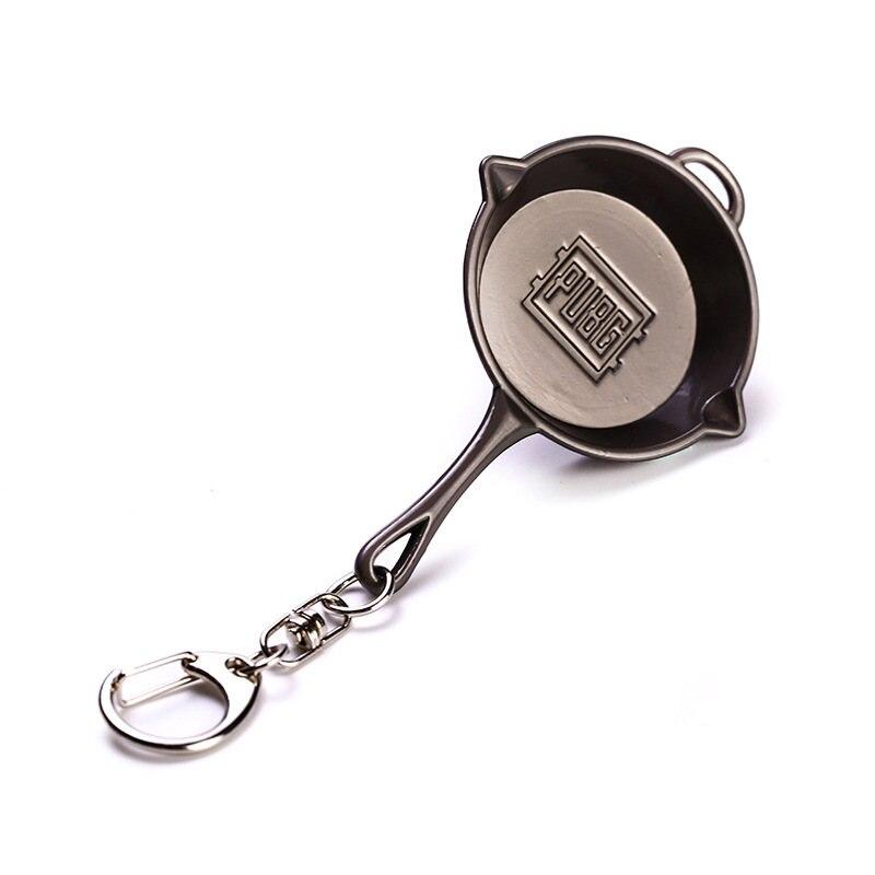 Bullseye Pan Keychains (3)