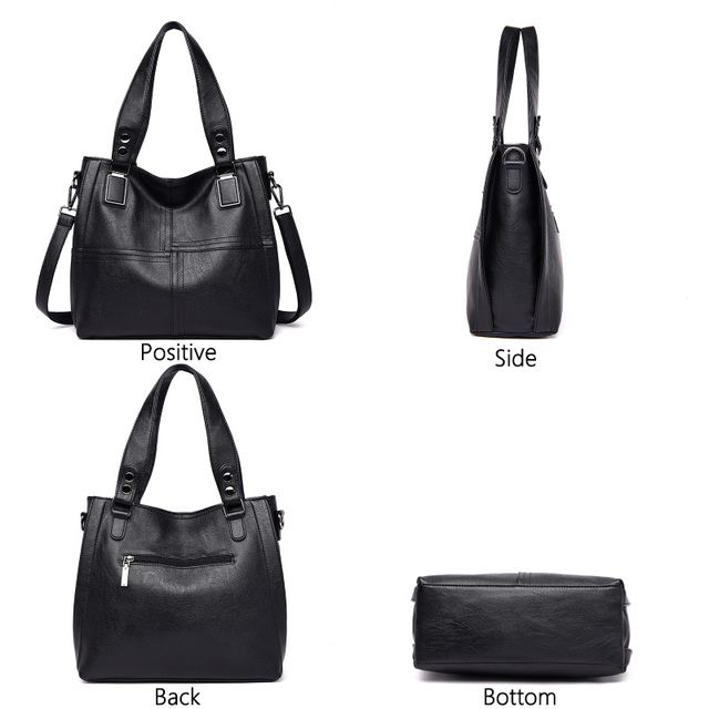 Genuine Leather Casual Shoulder Bags 2