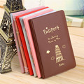Simple Travel ID&Document Holder Utility Pu Leather Passport Cover 6 Colors 2016 Worldwide sale