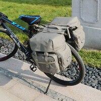 Rain Cover For Travel Camping Trunk Bags Saddle Bag  50L Bike Panniers Bag Waterproof Rear Seat Bicycle Bag|Bicycle Bags & Panniers| |  -