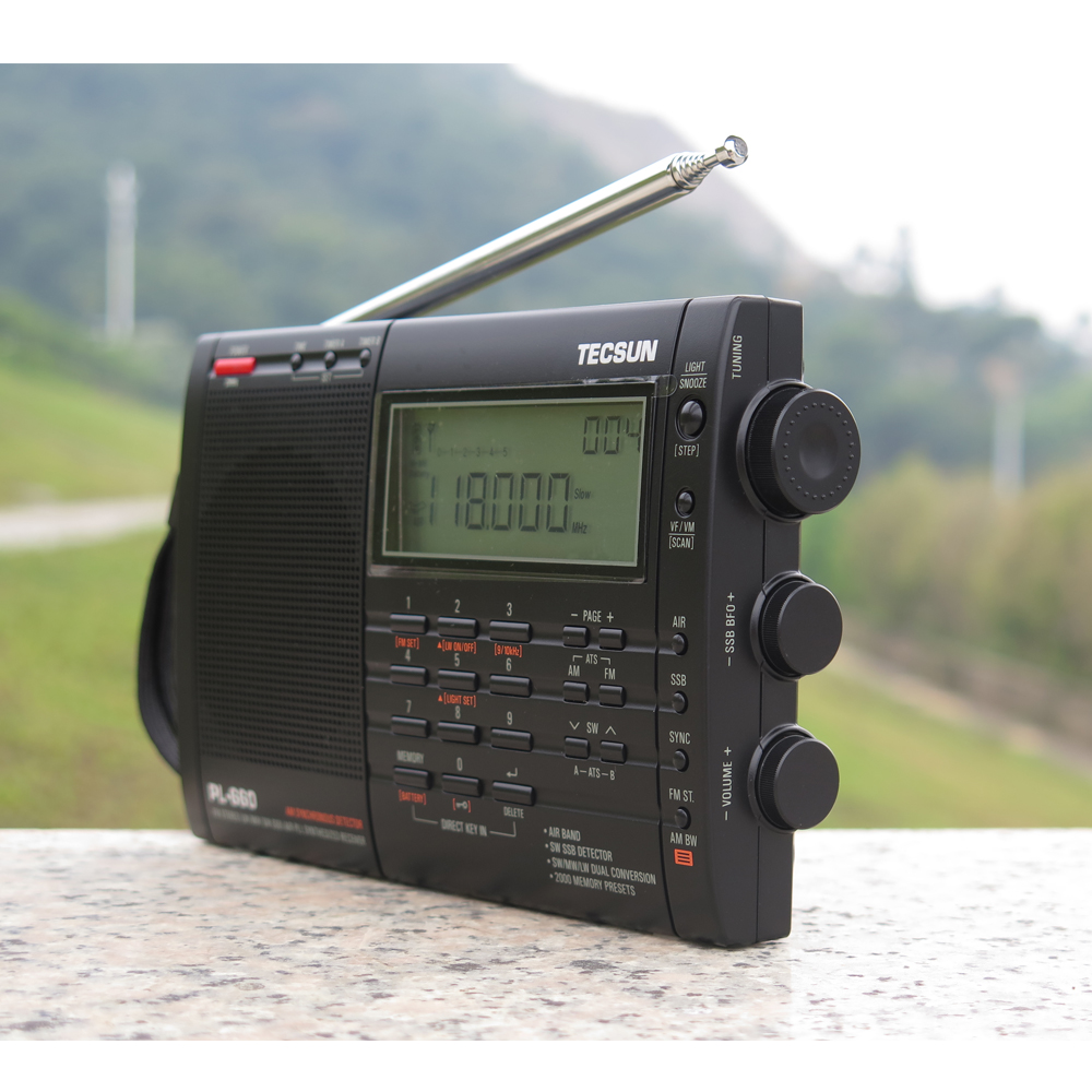 TECSUN PL-660 Radio PLL SSB VHF Zračni prijemnik FM / MW / SW / LW - Prijenosni audio i video - Foto 4