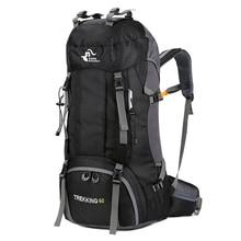 50L& 60L Открытый Рюкзак Кемпинг альпинистская сумка водонепроницаемый альпинистские походные рюкзаки Molle спортивная сумка рюкзак для альпинизма