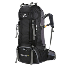 Neue 50L & 60L Outdoor Rucksack Camping Klettern Tasche Wasserdichte Bergsteigen Wandern Rucksäcke Molle Sport Tasche Klettern Rucksack