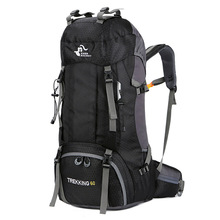 Hiking Backpacks Climbing-Bag Sport-Bag Mountaineering Molle Waterproof 50L Camping New