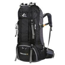 Novo 50l & 60l ao ar livre mochila de acampamento escalada saco à prova dwaterproof água montanhismo caminhadas mochilas molle saco esporte escalada
