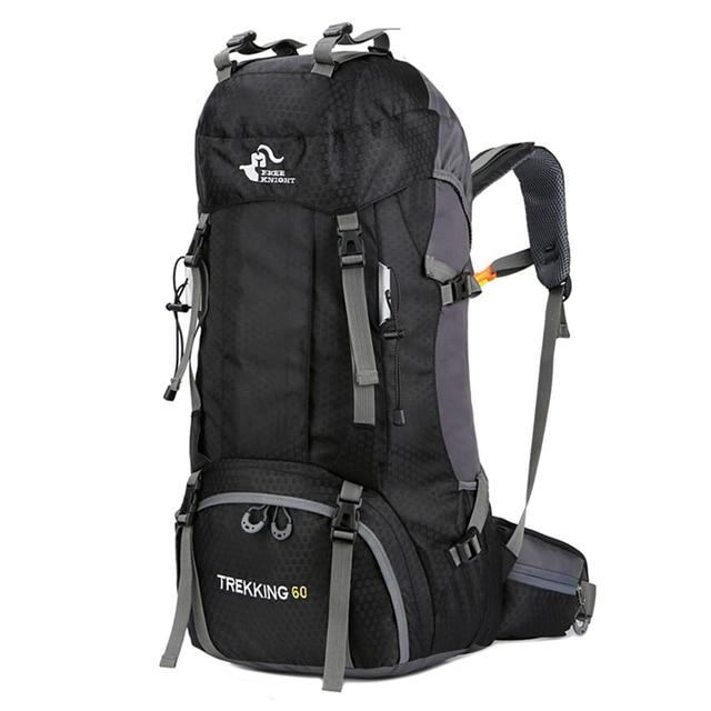 Nowy plecak 50L i 60L Camping torba wspinaczkowa wodoodporne górskie plecaki górskie Molle torba sportowa wspinaczka plecak