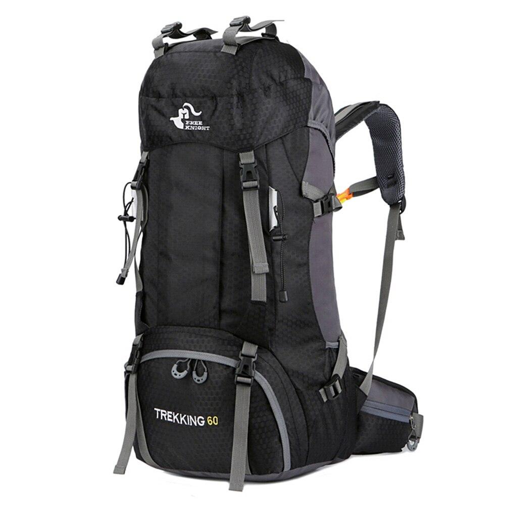Nuevo 50L y 60L mochila al aire libre Camping escalada impermeable montañismo senderismo mochilas para Molle escalada deporte bolsa mochila