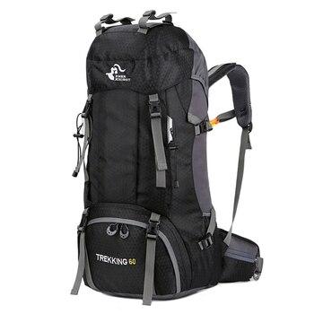 Nuovo 50L e 60L Zaino Esterno Sacchetto di Campeggio Arrampicata Impermeabile di Alpinismo Zaini Da Trekking Molle Sacchetto di Sport Arrampicata Zaino