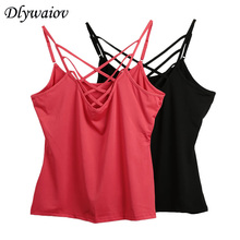Sexy Camis Female 2019 Fashion Fine Sling Vest Women Summer Sleeveless Femme Solid Tank Tops Casual  Ladies Camisole Crop Top women summer modale tank tops 2019 female sexy slim camis female ladies solid tank top