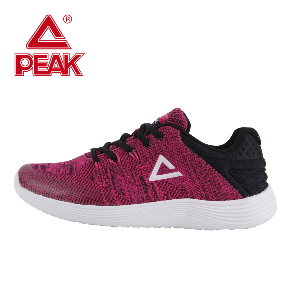 PEAK Women Sport Shoes Running Shoes Gym Athletic Outdoor Sneakers Running Shoes Fitness Comfortable Walking Free Breath Light peak sport men bas basketball shoes breathable comfortable sneakers athletic training wear resistant non slip ankle boots