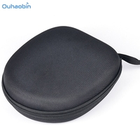 Ouhaobin Popular Hard Carrying Headphone Case Zippered Storage Bag Box Pouch For Sony MDR XB650BT Black