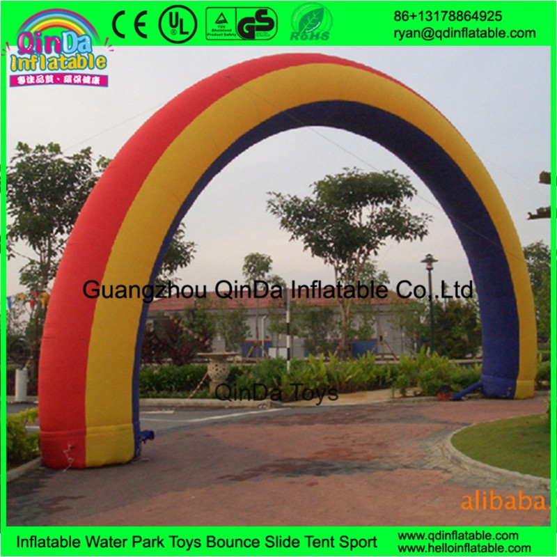 inflatable arch finish line30