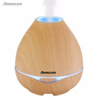 Aromacare 300ml Light Wood Grian Aroma Diffuser Best Mini Humidifier Air Purifier Essential Oil For Home