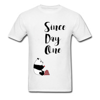 2018 T Shirt Men Streetwear Awesome T Shirt Since Day One Hip Hop Popular Music Tee