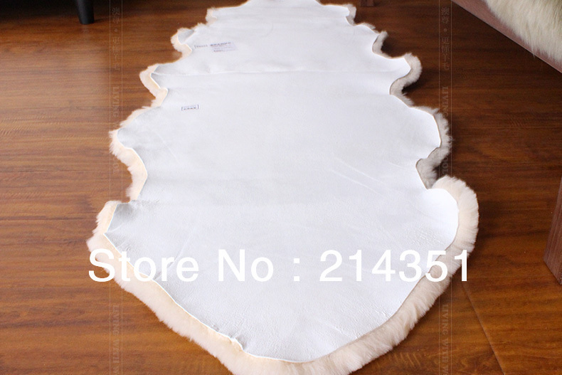 wonderfur sheepskin rug 2p double sheared sheep skin rug 65190cm drop ship rug for