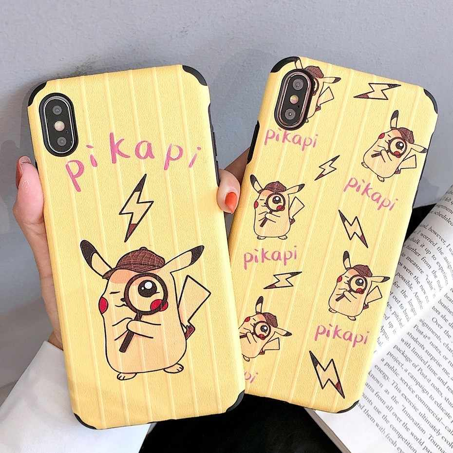Pokemon Case for Huawei P20 P30 Lite Pro Mate 20 Pro P10 Plus Honor 8X 10 20 V10 V20 Play Nova 4 3 3i 2S Pikapi Pikachu Cover