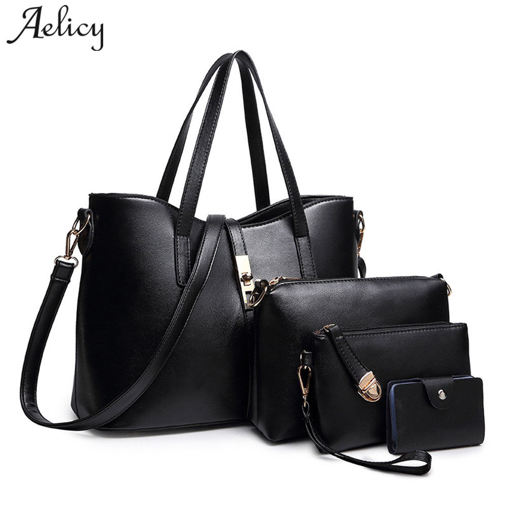 Aelicy 4PC Fashion Women Crossbody Bag 2018 New Design Woman Designer Bags Luxury High Quality Zipper Crossbody Bags For Women ...
