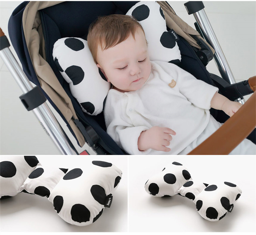 Anti Roll Baby Pillow Support To Prevent Flat Head Neck For Newborn With Memory Foam Cushion 10