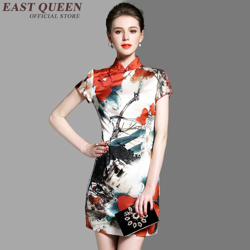 chinese traditional dress women modern cheongsam female