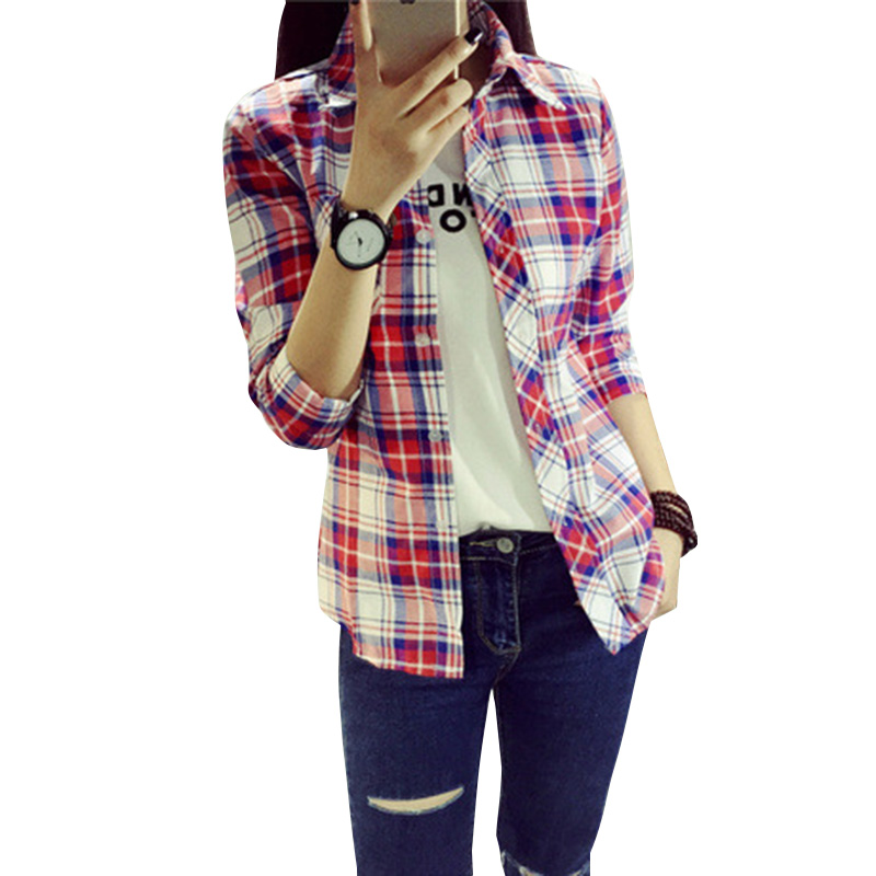 Looks - Women?s fashionable plaid shirts video