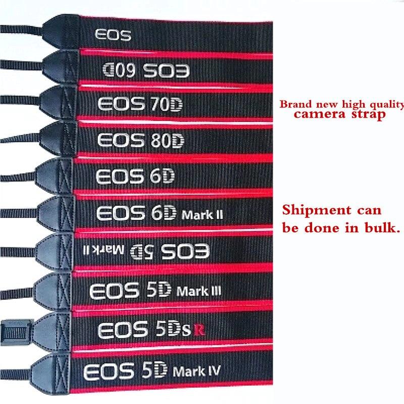 Camera Shoulder Neck Strap Belt Sling For Canon 6D2 80D 5D2 5D3 5DS 5DSr 60D 6D 70D 650D 700D 7D DSLR C