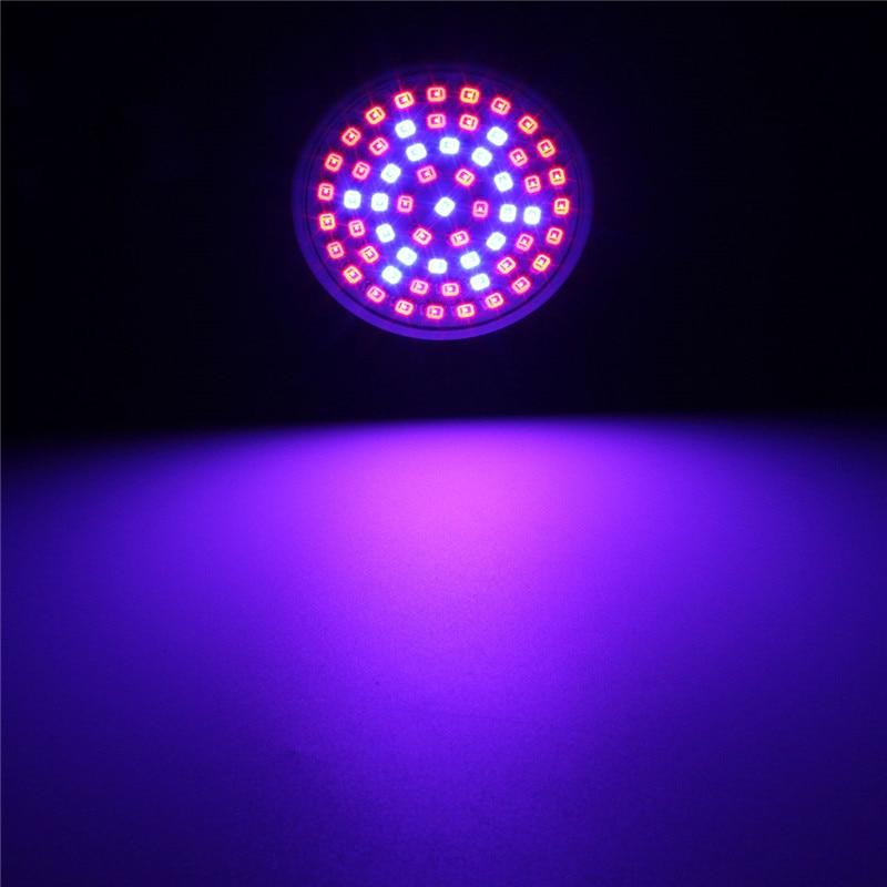 Full Spectrum 3W E27 3528 SMD 60 چراغ لامپ برای رشد گیاهان برای گیاهان