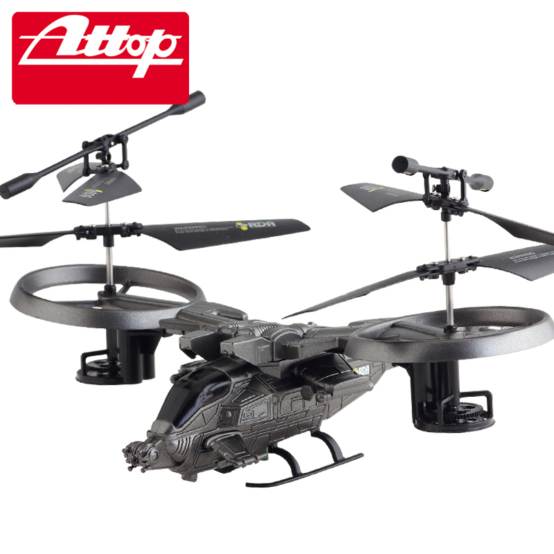 ФОТО Attop YD-718 4CH RC Helicopter Quadcopter Fighter R/C AVATAR Remote Control Plastic Radio Control Helicopter Gifts for kids#N