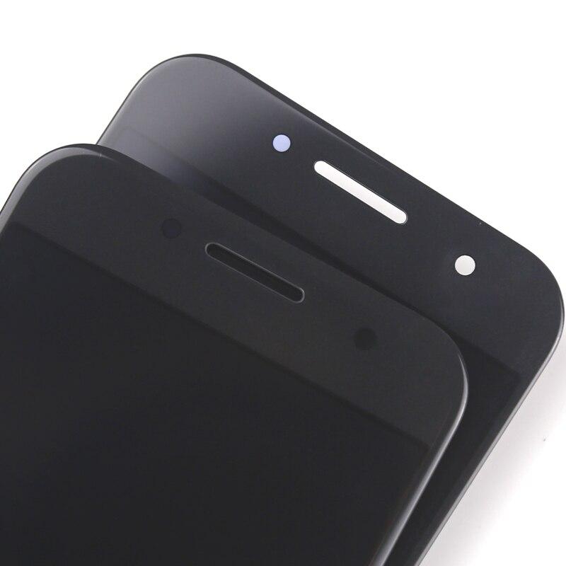 AMOLED noir blanc or rose écran tactile pour Samsung Galaxy A3 2017 A320 A320F LCD affichage numériseur assemblée téléphone pièces de rechange - 6