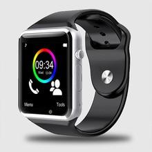 A1 Smart Watch WristWatch Bluetooth Smartwatch Sport Pedometer Phone Watch Smart Watch Android Men Wear With SIM TF Card Camera