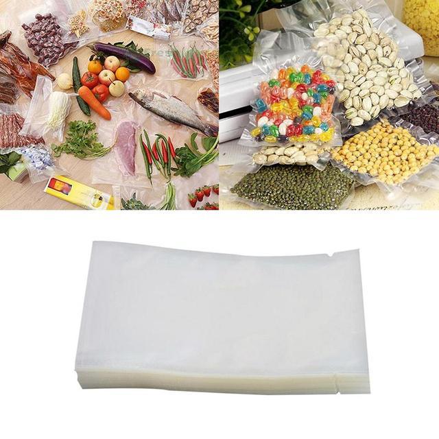 100 pcs/lot sac Sous Vide alimentaire scelleur Sous Vide sacs Sous Vide pour nourriture Sous Vide Machine à emballer sacs sacs de rangement de cuisine 1