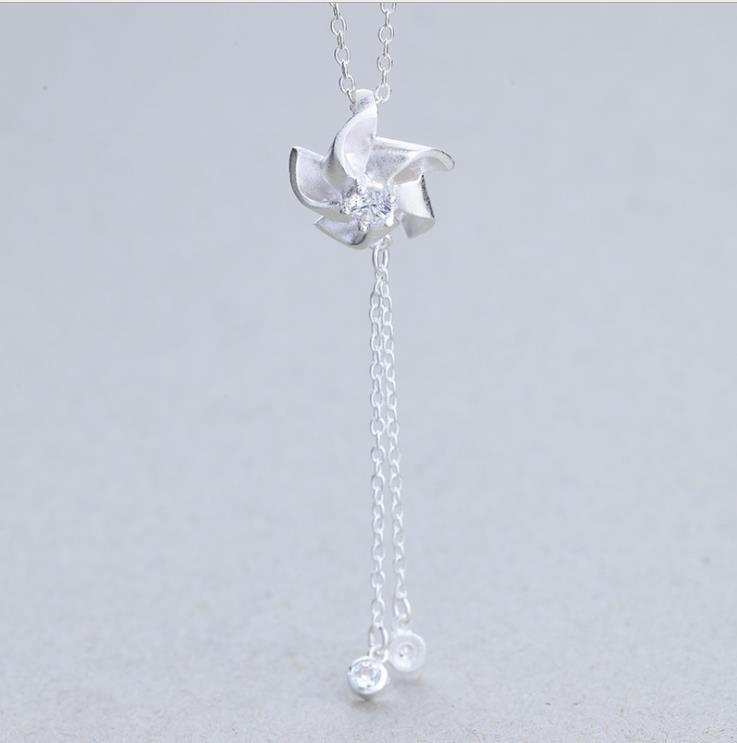 ZTUNG LVP62 women fine jewelry a beautiful 925 silver pendant fashion and delicate lady jewelry