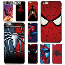 MaiYaCa Marvel Spider-Man Spider Mann Comics Homecoming Coque Shell Telefon Fall für Apple iPhone 8 7 6 6 S Plus X 5 5 S SE 5C Abdeckung(China)