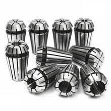 10pcs ER16 1-10mm Spring Collet Set Precision Spring Collet Set For CNC Lathe Engraving Milling Machine