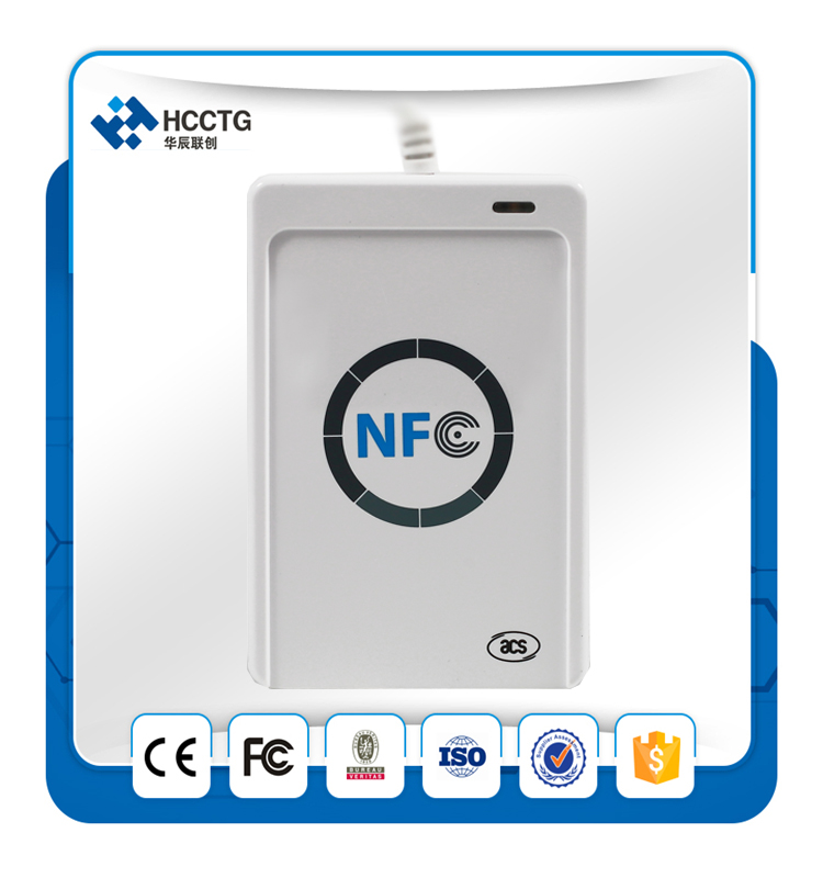 13.56Mhz Android USB NFC RFID Contactless Smart Card Reader/Writer Vending Machines ACR122U nfc contactless readers acr122u usb nfc reader
