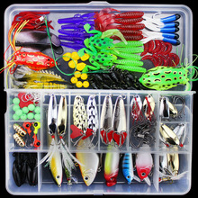 2019 Hot Suits Soft Fish Shrimp Spoon Metal VIB Lure Bait Sequins Artificial Mixed Colors/Style Fishing Lures 141 pic
