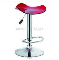 Acrylic Fashion Bar Chair Stool Pub Stool Pub Chair Simple Style Bar Stool