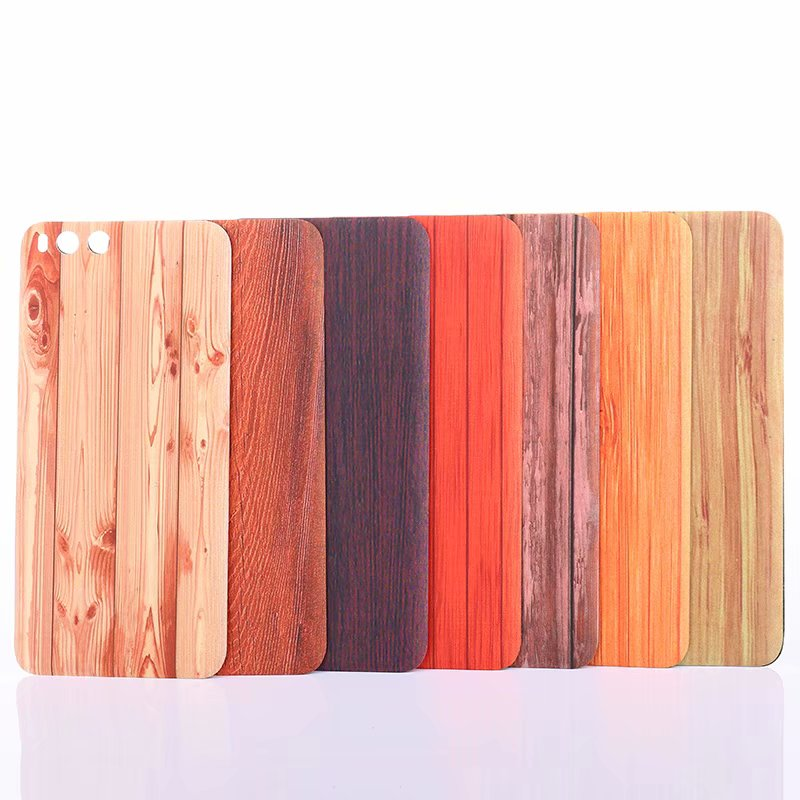 <font><b>Mi6</b></font> <font><b>Original</b></font> Case For Xiami Mi 6 Xiaomi6 Housing Plastic Wood Wooden <font><b>Battery</b></font> Smart Phone Door Back Replacement <font><b>Cover</b></font> image